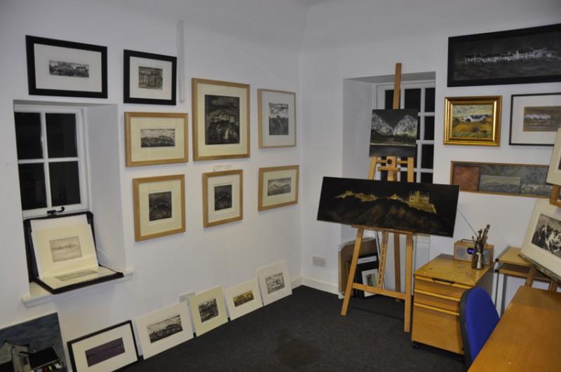 A well-hung studio!