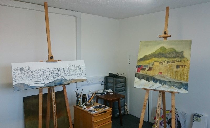 My studio at the Firestation