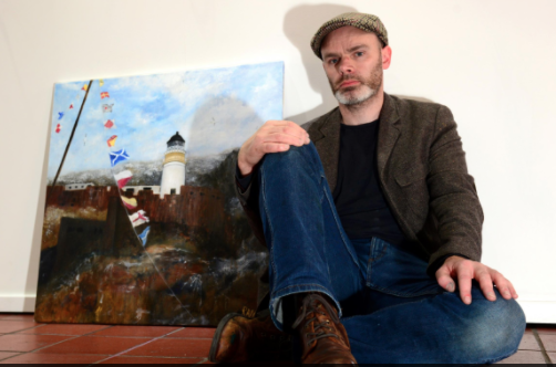 With my painting The Bass Rock Light
