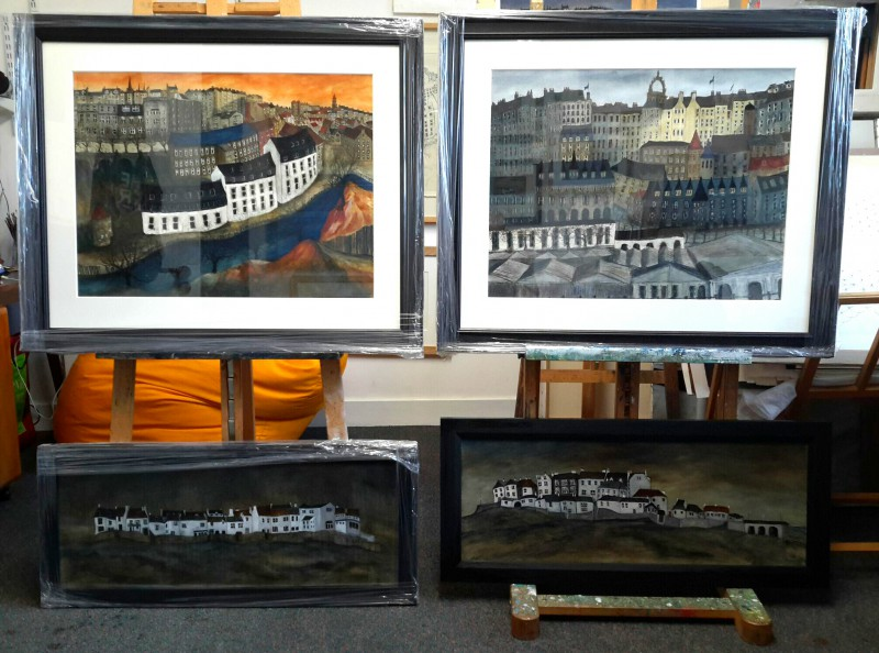 Sold paintings April 2016