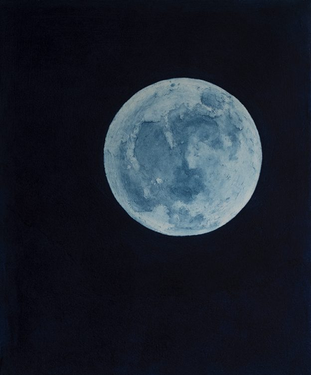 Blue Moon in Morocco