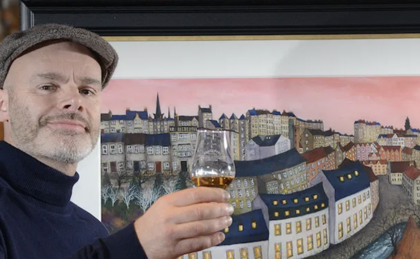 Tobermory Whisky,  Edinburgh Art Fair and the UK's 1st Ever Fine Art Crawl